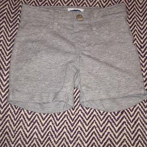 Light Grey Kids Shorts (6-7) Girls -